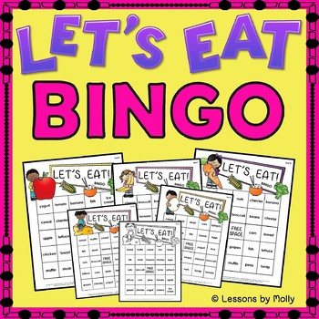 Food Groups for a Balanced Diet {Bingo}