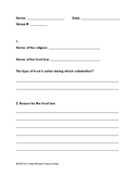 food law- research worksheet with questions