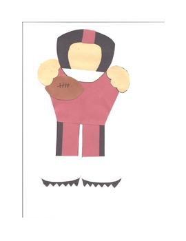 football player and cheerleader