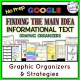 for GOOGLE CLASSROOM READING : Main Idea Graphic Organizers