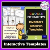 for Google Classroom FAMOUS INVENTORS BIOGRAPHY Research Report Templates