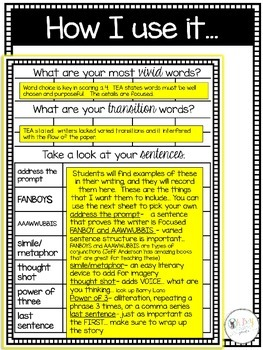 four STAAR writing for 4th grade narrative writing