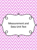 Fourth Grade Measurement and Data Assessment (Common Core