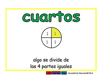fourths/cuartos meas 2-way blue/verde