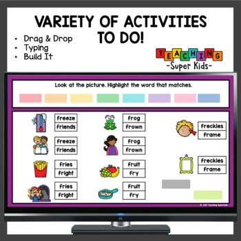 FR Blends Activities and more
