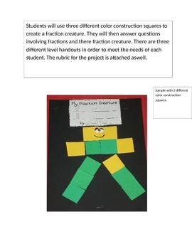 fraction creature project