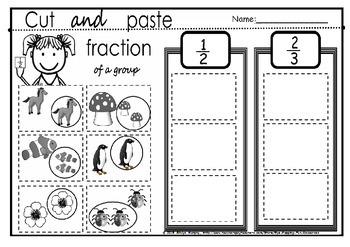 fraction part of a set