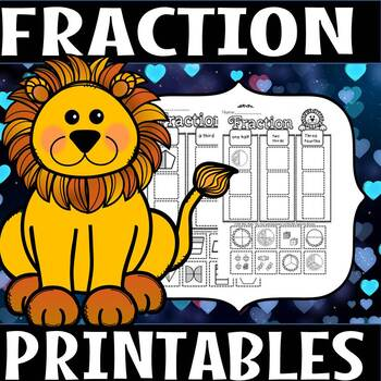 fraction printables(50% off for 48 hours)