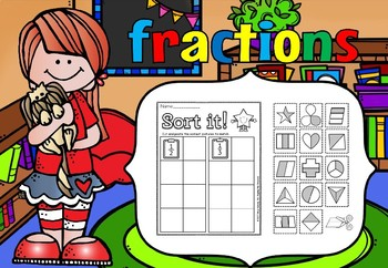 fractions cut and paste fun