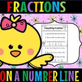 fractions on a number line(50% for 48 hours)