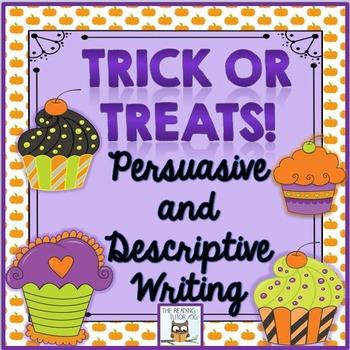 October Persuasive and Descriptive Writing Practice