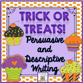 Writing Practice: October | Persuasive Descriptive Activit