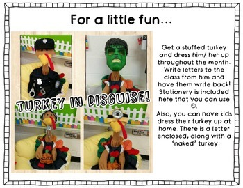 Disguise a Turkey: Making Inferences