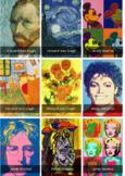 free PRINTABLE Artists Card game