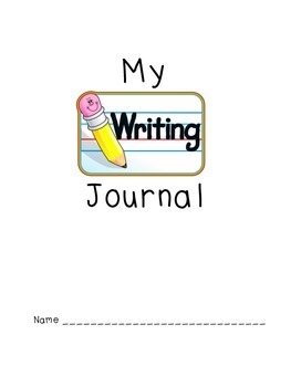 free Primary Grade Journal cover and page (with checklist)