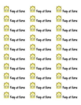 "free ""Take-Home"" Folder Labels"