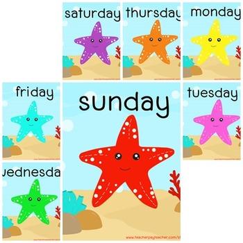 free download starfish 7 days poster