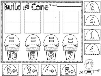 make ten cones