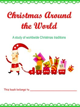 *freebie* Christmas Around the World title page