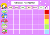 behavior chart (French)