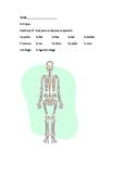french body parts quiz
