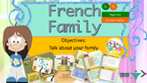French family, la famille full lesson for beginners