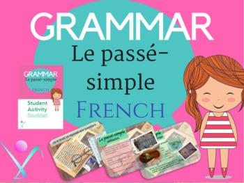 Past simple French grammar, passé simple en francais lesso