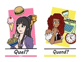 french questions words.