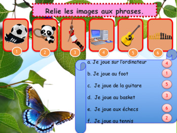 Spring in French weather and activities for beginners NO PREP