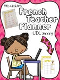 French Teacher Planner