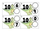 friends of ten: dinosaur themed number bonds
