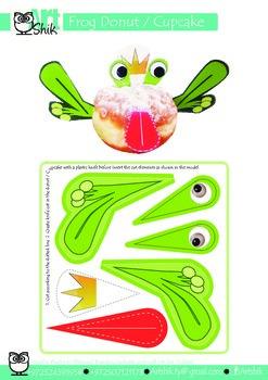frog Donut   Cupcake
