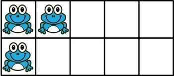 frog ten frame(FREE- FREEDBACK CHALLENGE)