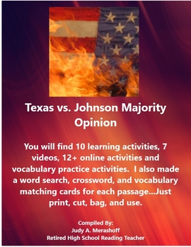 from Texas vs Johnson Majority Opinion