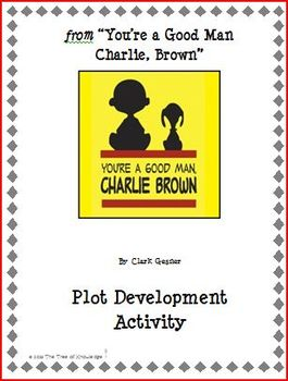 "from ""You're a Good Man, Charlie Brown"" Plot Development Activity"