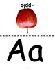 Fruit ABC flashcards