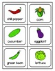 fruit and vegetable picture card BUNDLE