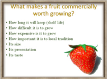fruit – we need a variety!  - ESL adult and kid conversation lesson