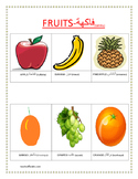 fruits in arabic