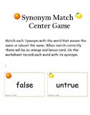 Fruity Synonym Match