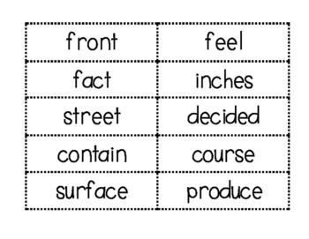 fry sight words list 5
