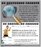fun elemental mystery activity element periodic table atom