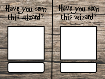 wizard locker tag for students
