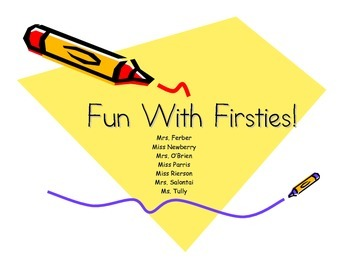 fun with firsties