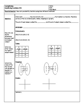function cornell notes