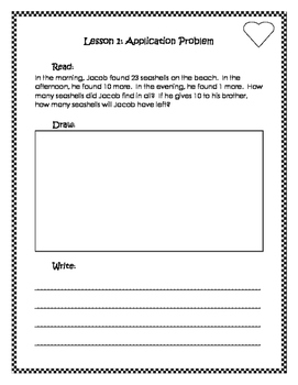 Engage New York / Eureka Application Problems Second Grade Module 4
