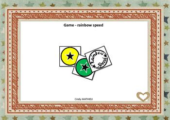 game - rainbow speed