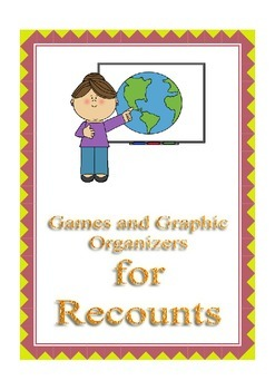 games and graphic organizers for recounts