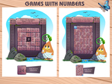 games with numbers, development of attention and iq