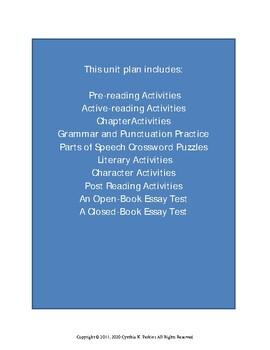 Gathering Blue Complete Literature and Grammar Unit